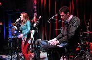 Performing with Mara Davi and Leena Waite, Buffalo, NY